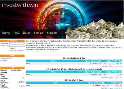 Invest With Win - investwith.win 8057