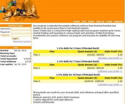 Amex Trades Ltd. - amex-trades.com 8061