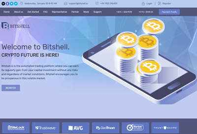 Bitshell screenshot