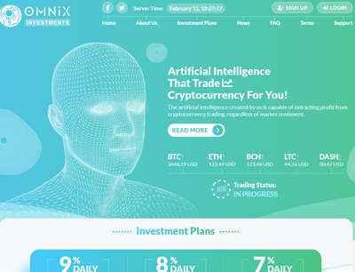 Omnix screenshot