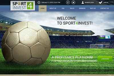 SPORT 4 INVEST screenshot