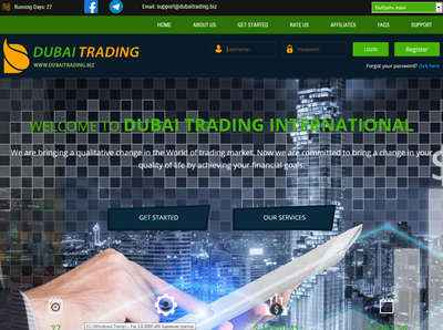 Dubai Trading International screenshot