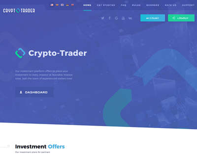 Crypto Trader screenshot