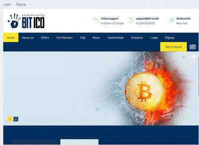 BIT-ICO screenshot
