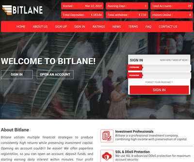 Bitlane screenshot