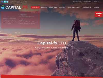 Capital-fx LTD screenshot
