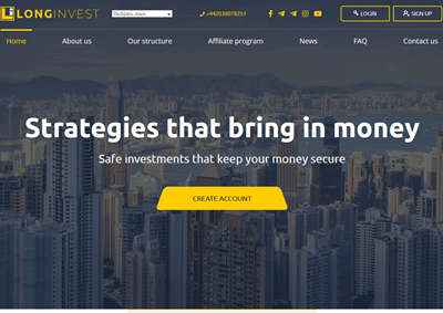 LONG INVEST CAPITAL LTD - longinvest.biz 8180