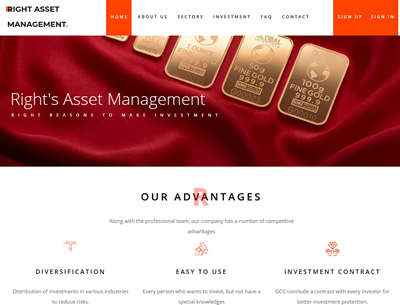 Right Asset Management screenshot