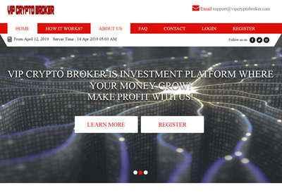 VIP Crypto Broker screenshot