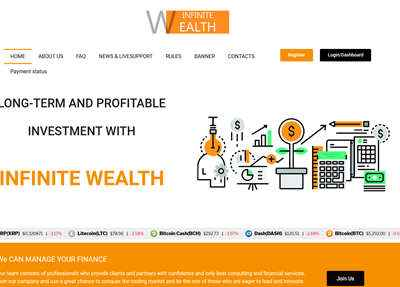 Infinite wealth screenshot