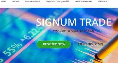 Signum Trade screenshot