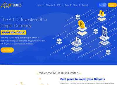 Bitbulls.io screenshot