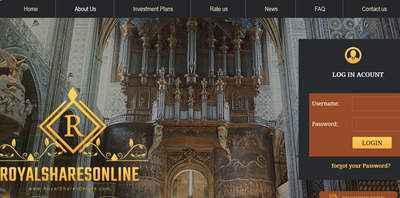 RoyalSharesOnline screenshot
