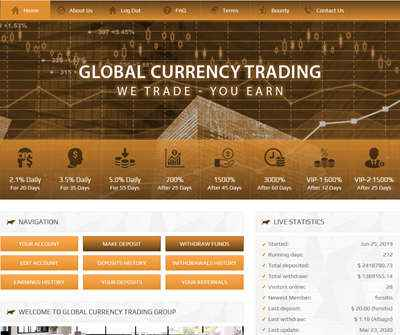 Global Currency Trading Group screenshot