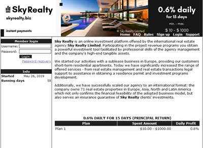 Sky Realty Limited screenshot