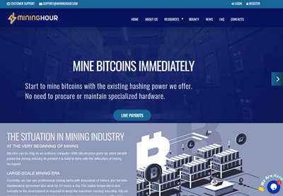 MiningHour screenshot