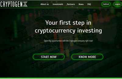 Cryptogen7 screenshot