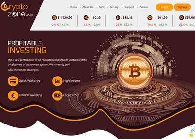 CryptoZone screenshot