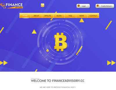 Finance Advisory screenshot