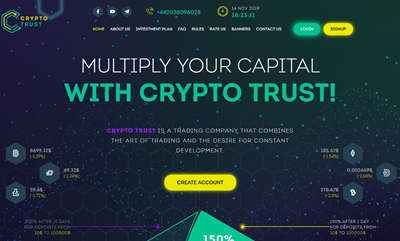 CRYPTO TRUST screenshot