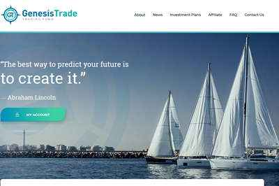Genesis Trade Fund screenshot