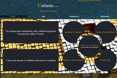 Unlimte Online screenshot