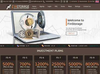 FINSTORAGE screenshot