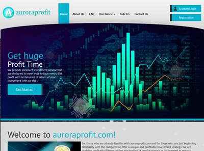 Auroraprofit screenshot
