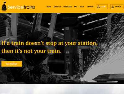 Servicetrains Inc. screenshot