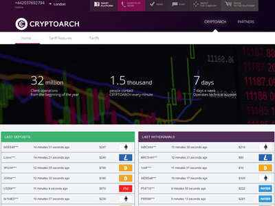 Cryptoarch screenshot