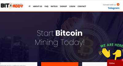Bitdaddy Mining Limited screenshot