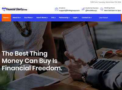 Financial Liberty Group screenshot