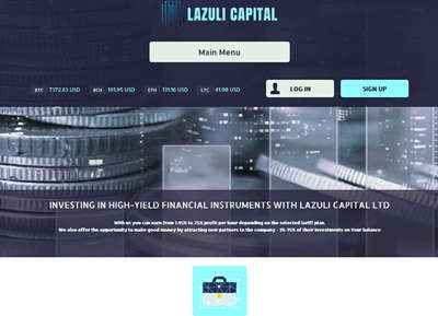 LAZULI CAPITAL LTD screenshot