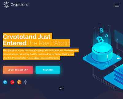 CryptoLand LTD screenshot