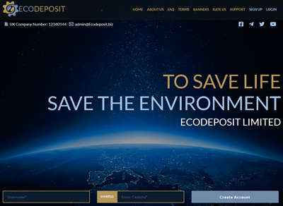 EcoDeposit screenshot