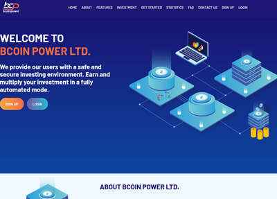 BCoin Power Limited screenshot