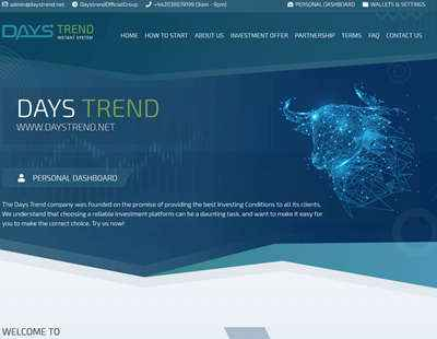 Days Trend screenshot