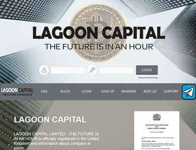 LAGOON CAPITAL LIMITED screenshot