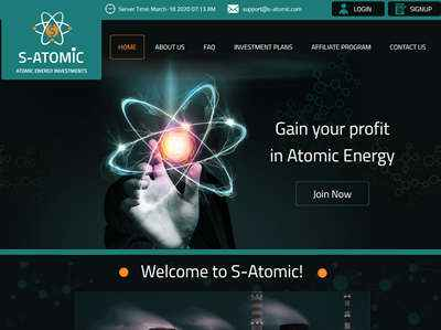 S-Atomic screenshot