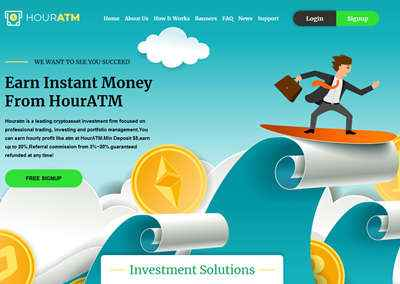 HourATM LTD. screenshot