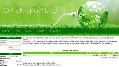 OK ENERGY - okenergy.biz 8757