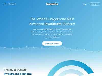 Cryptominal Platform - cryptominal.cc 8764