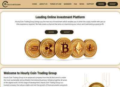 Hourly Coin Trading Group screenshot