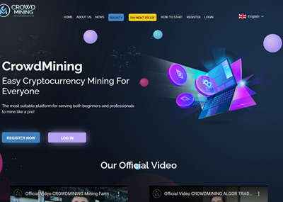Crowd Mining Limited screenshot