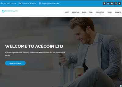 Acecoinltd screenshot