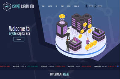 CRYPTO CAPITAL screenshot