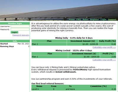 BTC Mining - btcmining.solar 8954