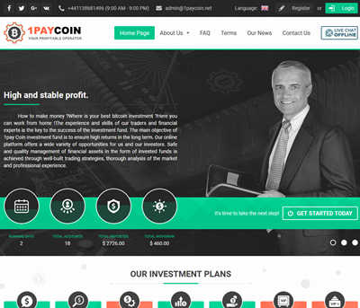 1PayCoin screenshot