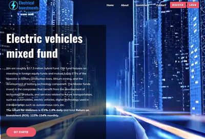 Electrical Investments ltd screenshot