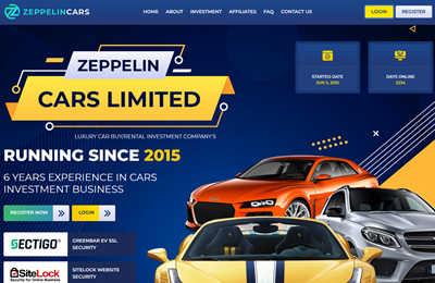 Zeppelin Cars Limited screenshot